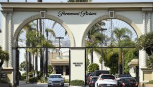 COURTESY CHRIS PIZZELLO/INVASION VIA AP / 2016                                 The Paramount Pictures gate in Los Angeles.