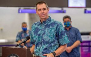 STAR-ADVERTISER                                 Hawaiian Airlines President and CEO Peter Ingram.