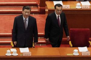 ASSOCIATED PRESS                                 Chinese President Xi Jinping, left, and Premier Li Keqiang arrive for the opening session of Chinese People's Political Consultative Conference (CPPCC) at the Great Hall of the People in Beijing, Thursday.