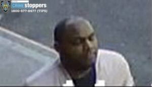 COURTESY OF NEW YORK POLICE DEPARTMENT VIA ASSOCIATED PRESS                                 A screenshot shows a person of interest in connection with an assault of an Asian American woman, Monday, in New York. The NYPD is asking for the public's assistance in identifying the man.