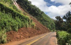HAWAII DEPARTMENT OF TRANSPORTATION                                 Kuhio Highway on Kauai appeared to be in good condition, March 15, after crews cleared large amounts of debris from the area following a landslide on March 11. The Hawaii Department of Transportation will open a single access lane to the public on Kuhio Highway at Kauai's north shore beginning Saturday.