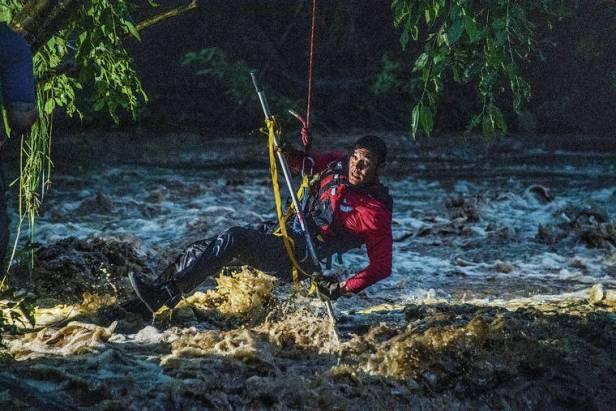 Gov. David Ige declares an emergency as heavy rain wreaks havoc across the state