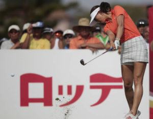 JAMM AQUINO / 2014                                 Michelle Wie won the 2014 LPGA Lotte Championship.