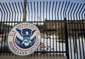 ASSOCIATED PRESS                                 The Homeland Security Department headquarters in northwest Washington, seen in Feb. 2015.