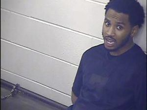 ASSOCIATED PRESSv                                 In this undated photo provided by the Jackson County Detention Center, In Kansas City, Missouri shows Trey Songz. Prosecutors have declined to file charges against R&B artist Trey Songz stemming from an altercation with police officers at the AFC championship game in Kansas City.