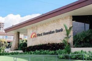 COURTESY FIRST HAWAIIAN BANK                                 First Hawaiian Bank's Pearlridge branch