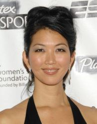 ASSOCIATED PRESS / 2007                                 Jeanette Lee arrives at the Women's Sports Foundation's 28th Annual Salute to Women in Sports at the Waldorf-Astoria Hotel in New York.