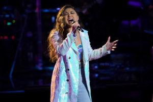 """COURTESY NBC                                 Ciana Pelekai performed tonight in the Knockout Rounds on NBC's """"The Voice."""""""