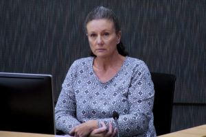 ASSOCIATED PRESS / 2019                                 Kathleen Folbigg appears via video link during a convictions inquiry at the NSW Coroners Court in Sydney, Australia.