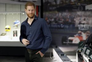 """ASSOCIATED PRESS                                 Britain's Prince Harry visits the Silverstone Circuit, in Towcester, England, in 2020. In an episode of the """"Armchair Expert"""" podcast broadcast today, Prince Harry compared his royal experience to being on """"The Truman Show"""" and """"living in a zoo."""""""