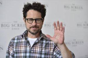 """INVISION / AP                                 J.J. Abrams arrives at """"The Big Screen is Back"""" media event."""