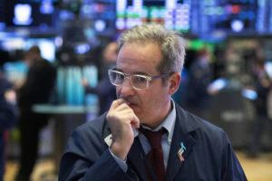 ASSOCIATED PRESS                                 A trader works the floor at the New York Stock Exchange, in New York, on Tuesday.