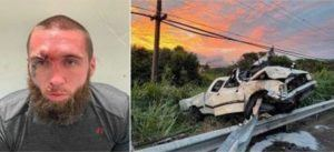 MAUI COUNTY POLICE DEPARTMENT                                 Police arrested Holden T. Bingham, 30, on suspicion of manslaughter, operating a vehicle under the influence of drugs, auto theft, driving without a license, reckless driving and contempt of court on Thursday.