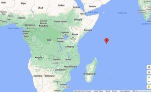 GOOGLE MAPS                                 The Seychelles
