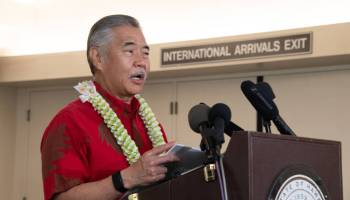 VIDEO: Gov. David Ige lifts Hawaii mask mandate for those outdoors