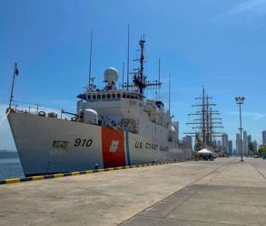 COURTESY U.S. COAST GUARD VIA NEW YORK TIMES / FEBRUARY 21                                 A U.S. Coast Guard cutter in Key West, Fla.