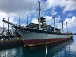 NINA WU / 2019                                 State officials have put out a bid for the disposal of the historic Falls of Clyde ship, with an upcoming deadline of this Friday, to the objection of supporters still trying to save it.