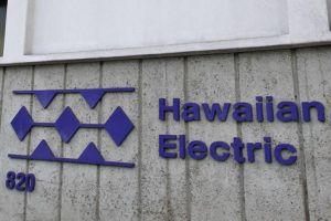 JAMM AQUINO / 2017                                 The Hawaiian Electric Co. sign.