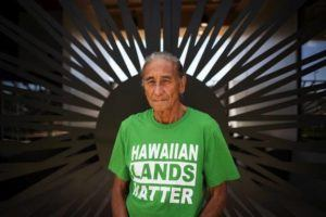 CINDY ELLEN RUSSELL / CRUSSELL@STARADVERTISER.COM                                 Mike Kahikina served on the Hawaiian Homes Commission from 2011-2019. He was stunned to learn that the federal government was selling excess property that could have gone to the land trust that he and other commissioners oversaw.