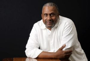ASSOCIATED PRESS                                 Tavis Smiley, owner of progressive talk radio station KBLA Los Angeles (1580), poses for a portrait, Tuesday, in Los Angeles.
