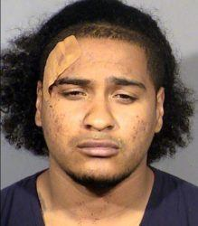 CLARK COUNTY DETENTION CENTER/LAS VEGAS METROPOLITAN POLICE DEPARTMENT VIA ASSOCIATED PRESS                                 Malik Frost, following his arrest in an April 25 shooting that killed one man and wounded two others on the Las Vegas Strip. A judge Wednesday set a Friday date for Malik Justice Arle Frost to enter pleas to charges that include battery and weapon enhancements stemming from the early April 25 shooting.