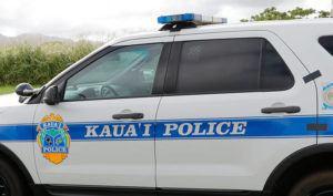 STAR-ADVERTISER / 2020                                 A Kauai Police Department vehicle.