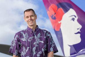STAR-ADVERTISER / 2018 Hawaiian Airlines CEO Peter Ingram.
