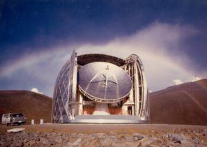COURTESY OF CALTECH SUBMILLIMETER OBSERVATORY                                 The Caltech Submillimeter Telescope atop Mauna Kea, as seen in 2015. The Maunakea Management Board this week approved a plan for decommissioning a telescope atop Hawaii's tallest peak.