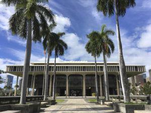 ASSOCIATED PRESS                                 The Hawaii state Capitol in Honolulu