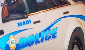 STAR-ADVERTISER / 2017                                 A Maui Police Department vehicle.