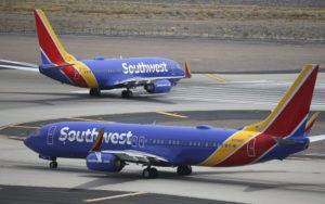 ASSOCIATED PRESS                                 Southwest Airlines planes, seen in July 2019, at Phoenix Sky Harbor International Airport in Phoenix. Southwest Airlines President Tom Nealon, who was once seen as a leading candidate for CEO but was passed over this year, has retired.