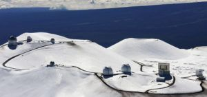ASSOCIATED PRESS / 2009                                 A draft master plan of Mauna Kea looks to reduce the number of observatories at the summit from 13 to nine.