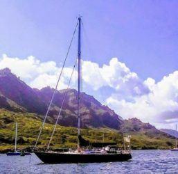 COURTESY U.S. COAST GUARD                                 Philip Grenz's boat, Epic.