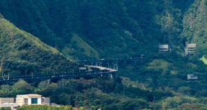 CRAIG T. KOJIMA / SEPT. 3, 2020                                 The H-3 freeway will be closed in both directions from 8:30 a.m. to 4 p.m. Saturday and Sunday as Hawaiian Electric crews work on upgrading transmission equipment.