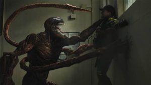 """COURTESY SONY PICTURES ENTERTAINMENT                                 A scene from """"Venom: Let There Be Carnage."""""""