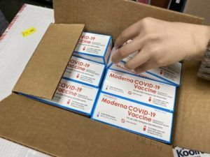 COURTESY HAWAII HEALTH DEPT.                                 CVS Health, which operates Longs Drugs stores in Hawaii, is offering Moderna COVID-19 booster shots to eligible populations at select locations starting today.