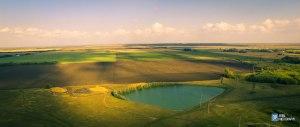 Прибрежное с воздуха. Фотография Данилы Пахомова.