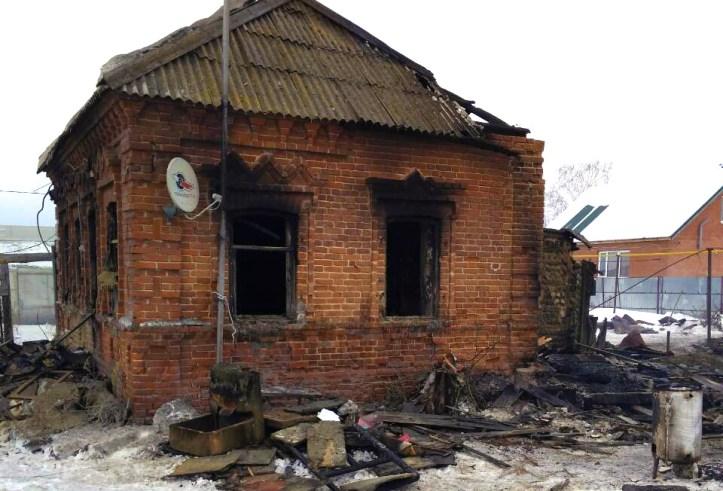 В Кременках при пожаре жилого дома пострадала женщина