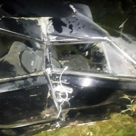 ДТП между Шмелевкой и Матвеевкой ВАЗ 2106 «улетел» в кювет