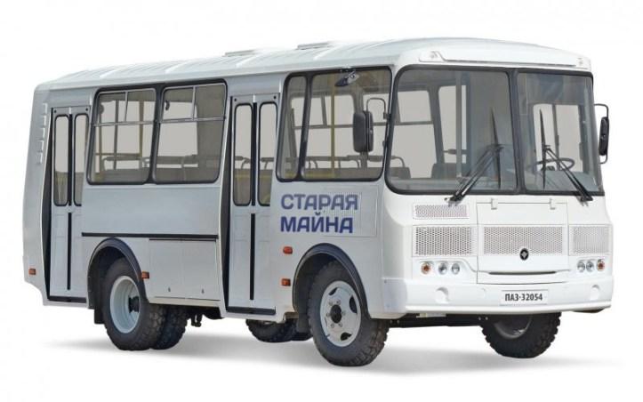 кольцевой автобус в старой майне
