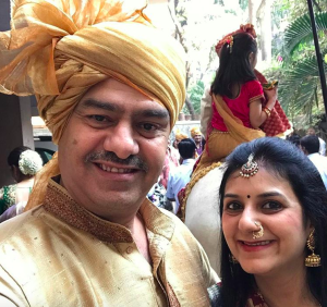 Parents of Radhika Merchant