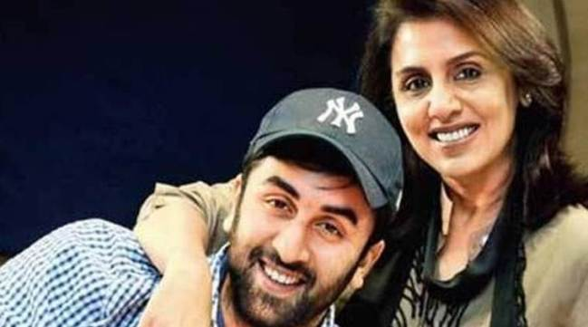 Ranbir Kapoor With His Mother
