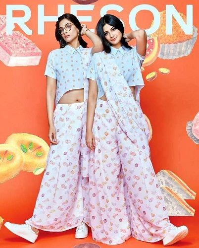 Rhea Kapoor with her sister Sonam Kapoor wear the dresses of Rheson brand