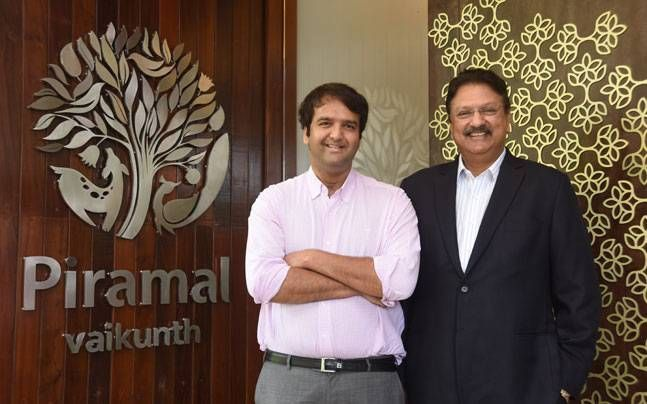 Anand Piramal with Father