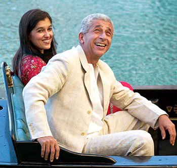 Ratna Pathak with her husband Naseeruddin Shah