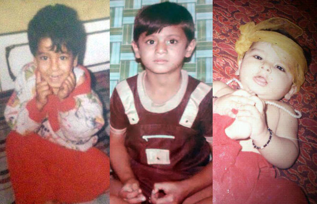 Karishma Tanna Childhood Pictures