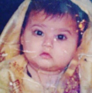 Arshifa's childhood picture