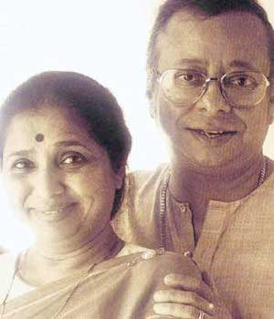 Asha Bhosle with R.D. Burman