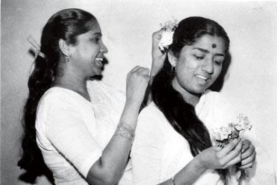 Asha and Lata in their teenage