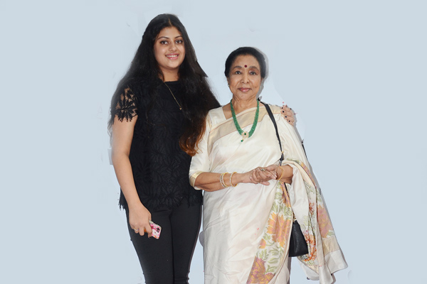 Asha with her grand-daughter Zannai
